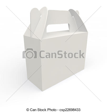 White box for gifts