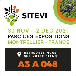 Salon SITEVI du 30 novembre au 2 décembre 2021 à Montpellier.